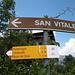 San Vitale di Preglia: in fondo in fondo il Passo del Gries non è poi così lontano...<br />Da Pontemaglio, poi, un giro di orologio...