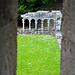 Cong Abbey, Blick auf den Kreuzgang.