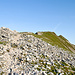 Der unspektakuläre Gipfel des Errigal Mauntain.