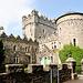 Glenveagh Castel, hier gibt es Gastronomie und ein Museum. Das Castle ist eingebettet in einem sehenswerten Parkgelände.