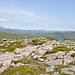 Auf dem Berg mit dem unaussprechlichen Namen: Maghernashangan (348 m).