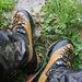 Foto vom ersten Besteigungsversuch am 29./30.6.2013:<br /><br />Feucht, Schlamig, Neblig und Regnerisch: Dann sehen die Hosen so aus!