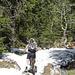 immer noch Schnee auf den Wegen zum Mont Tendre