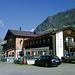 Ausgangspunkt und Ziel der Wanderung - das mit dem Auto einfach erreichbare DAV Madlenerhaus.