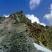 Der Sattelkopf mein heutiges Gipfelziel ....