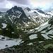 Der Silvrettahornkamm ... da reihen sich auch einige lohnende Gipfelziele auf ...