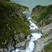 Die Mündung des Klosterbaches  in den Silvrettasee ... aus Klosterbach wird Ill