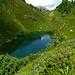 L'idyllique petit étang du Seeli (1900m), sous la cabane Salbit