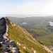 Die Rundumsicht vom Gipfel des Errigal Mountain aus.