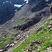 Etwa bei Punkt L, mit Blick nach S. Der Ledge-Pfad kommt irgendwo von dahinten, wo der kleine See ist.