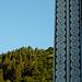 Blauer Himmel, grüne Wälder und angenehme Temparaturen...