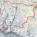 Zu/Abstieg Lindauer Hütte fehlt auf Karte, ist ja leicht zu finden. Gehrichtung im Uhrzeigersinn.