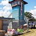 Ein Wachturm der Coastwatch.