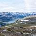 Blick vom Gipfel des Sloahtta ins Karsavagge