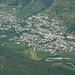 Aussicht auf die Dörfer des Unterengadins: Scuol