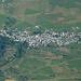Aussicht auf die Dörfer des Unterengadins: Sent