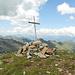 La croce della cima, che avevo rimesso in piedi nel 2009.<br />Piccola e semplice, dovrebbero essere tutte così.