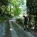 Der schön angelegte Wanderweg zur Cap. Santa Barbara