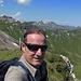 Auf dem ersten von 5 Gipfeln heute, dem Langrain.