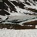 Lago Pécian ancora ghiacciato