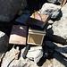 sehr exklusive Holzbox für das Gipfelbuch