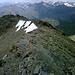 Schottrige Westgratimpressionen 2 (ab und zu ein bischen bröseliger Fels).<br />Hier hätte ich schon längst nach rechts absteigen sollen = Verhauer Anfang.