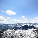 Es hat noch viel Schnee über 3000m