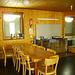 L'angolo cucina invernale della Capanna Cristallina