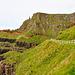 Man kann hier teilweise an der Steilküste entlang wandern.