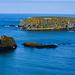 Insel vor der Küste Nordirland.