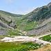 Reste von Bergbauaktivitäten im Glendalough Nationalpark.