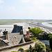 Blick in die flache Normandie.