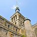 Der Turm der Abteikirche ist aber der höchste Punkt hier.
