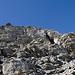 Rinnen, Stufen, Absätze, und nicht alles hier ist fester Fels