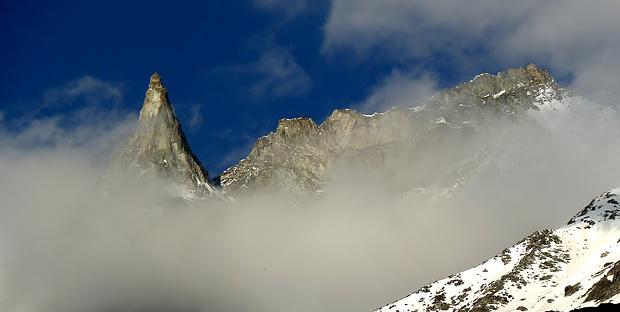Berge über Arolla!