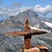 Die beiden Windgällen mit dem unverkennbaren Bristen-Gipfelsteinkreuz
