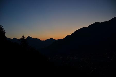 Erstes Morgenrot.