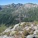 Gipfelkreuz auf der Cima del Muro