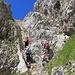 Erste Kletterei am Chaiserstock