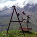 Wieder bei der Alp Zindeln. Nein, ich hätte abgelehnt - gerade gestern gab es ja in der Zentralschweiz einen Unfall mit sowas.
