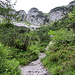 Aufstieg auf dem Klammlweg zur Gruttenhütte