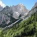 Abstieg von der Freiberghütte zur Gaudeamushütte