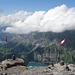 1000 Meter über dem Oeschinensee...