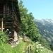 ..... vorbei an der Waldhütte Floitenschlag ....
