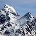 Der Piz Üertsch 3268m und der Igl Compass 3016m