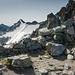 Postazione sul ghiacciaio Presena