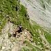 Teilstück im Abstieg vom Pass de la Cruseta