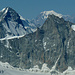 Und auf dem Rothorn - hier exakt überragt vom höchsten Alpengipfel - standen wir vor 48 Stunden