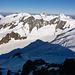 Blick zu Eiger, Mönch und Jungfrau (+ Schatten des Finsteraarhorns)