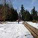 Noch liegt reichlich Schnee auf rund 670 MüM